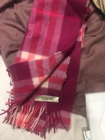 Genuine Burberry scarf