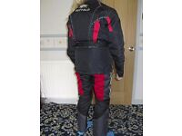 motorcycle winter jacket & trousers