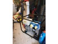 Honda / stephill 5kva petrol generator