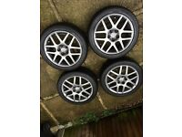 "16"" 5x100 Genuine BBS Montreal 2 Alloy Wheels"