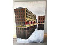 Albert Dock, Liverpool Painting
