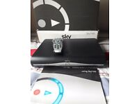 Sky+HD box with remote