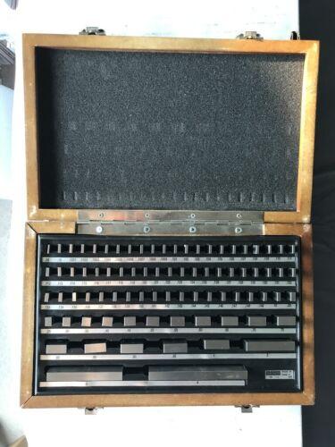 MHC 81pc Rectangular Gage Block Set - ASME Grade 0 - Model 630-4110