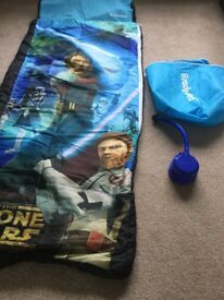 Star Wars ready bed