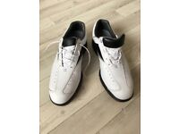 New Footjoy AQL Men's Golf Shoes Size 10 white