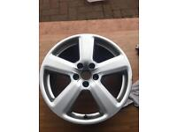 "Audi 18"" alloy wheel"