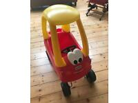 Little Tikes Cozy Coupe Ride on Car yellow/red