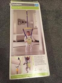Lindam bounce about baby swing door swing