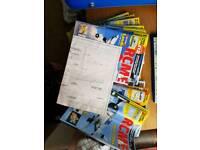 RCM&E RC plane magazines radio controlled nitro/electric