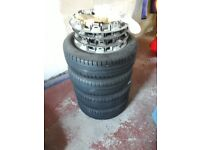 Fiat 500 Wheels and Tyres