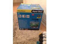 Aqua one nano fish tank