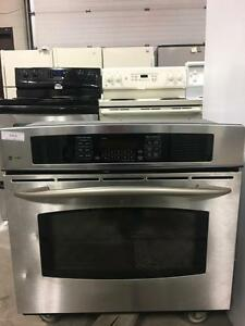 Wall oven stainless steal convection