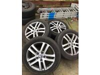 Volkswagen Golf alloys and tyres