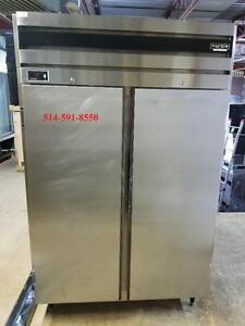 URGENT Refrigerateur Commercial 2 Portes en Acier Inox , Stainless Refrigerator 2 Door, Frigo, Fridge