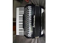 Serenada(Weltmeister)German accordion,41/120 light musette tuned. Execelllent condition, fully fit.