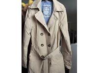 Zara cream mac coat