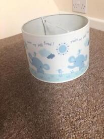 Baby boys lampshade
