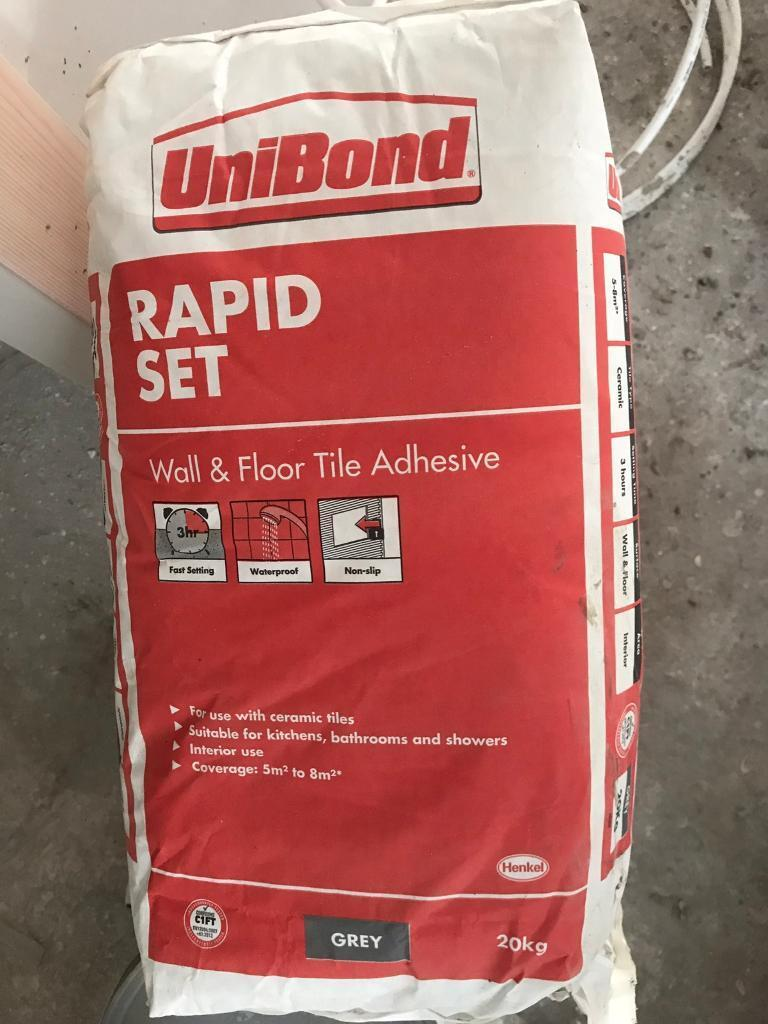 Unibond rapid set wall and floor tile adhesive in pontypridd unibond rapid set wall and floor tile adhesive dailygadgetfo Gallery