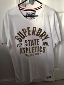 Superdry tshirt,size Large.Brand new