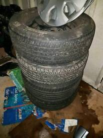 Vauxhall wheels 205 55 16