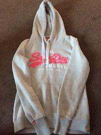 Superdry Light Grey Hoodie *New*