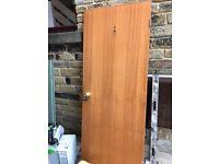 6 x Wood Veneer doors