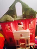 Large Barbie play house