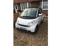 White Smart ForTwo 60 plate excellent condition