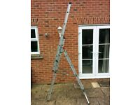 Abru X4 three section combination ladder ( extends up to 9 meters) - £50 or best offer