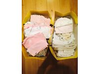 BABY GIRL complete FASHION WARDROBE (1-3months)
