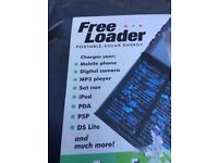 FreeLoader Solar Power Supply and Charger ideal for Caravans Camping Motorhomes or Boats.