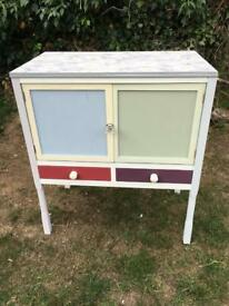 Upcycled storage cupboard