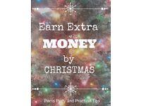Earn extra Christmas cash! £7.20-£10 basic wage / £108-£216 BASIC WAGE PER WEEK!