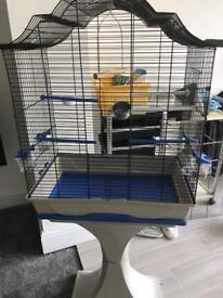 Cage on stand