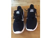 Black Nike Free Rn Flyknit Trainers UK11