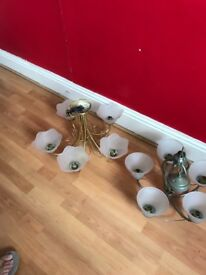 Ceiling lights all working good condition