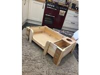 Hand made dog beds reclaimed wood