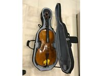 STENTOR Lightweight Hard Cello Case
