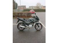 honda cbf 125 with sport exhaust