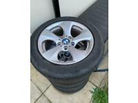 5 x 120 BMW alloys