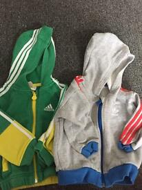 Boys 9-12 month adidas jackets