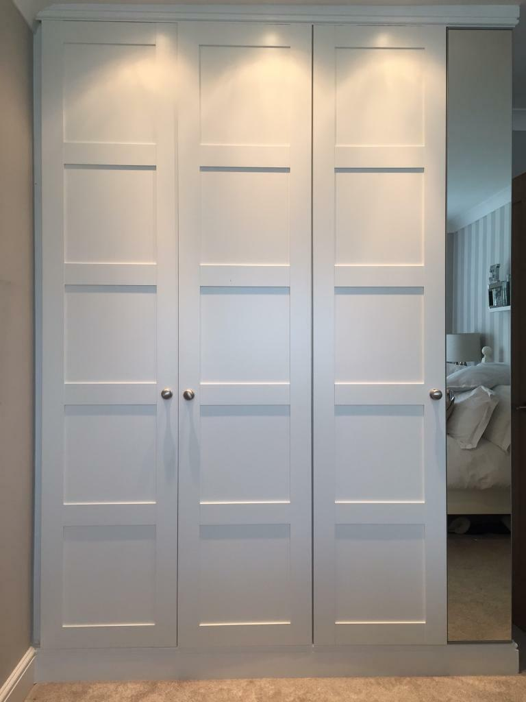 ikea pax wardrobe bergsbo doors in sheffield south yorkshire gumtree. Black Bedroom Furniture Sets. Home Design Ideas