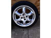 "ATTENTION TRIKE BUILDERS- TWO 16"" ALLOY WHEELS FOR SALE"