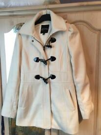 Winter White GUESS Coat