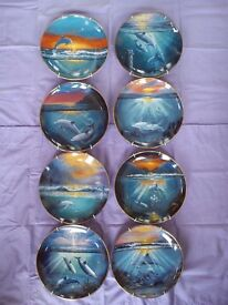 DOLPHIN COLLECTABLE PLATES