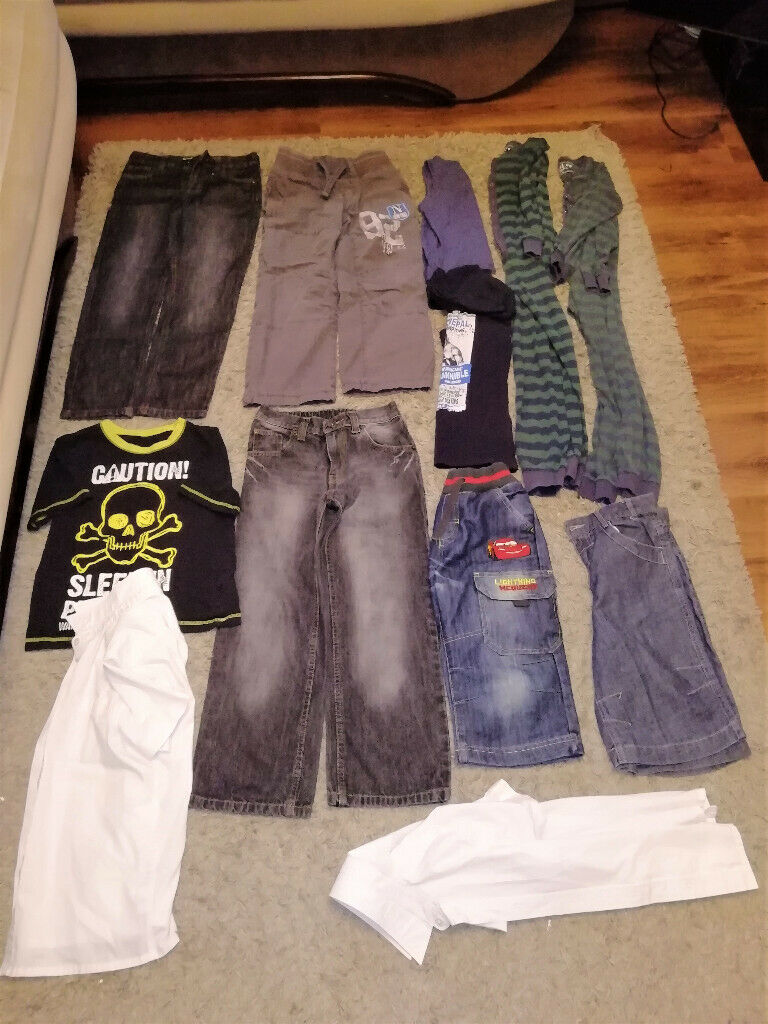 dec080eec 12 Boys Clothes size 8-9 years.
