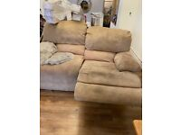 3 & 2 seater sofas both recliners