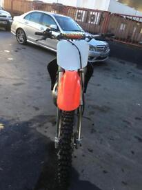 Honda cr250 two stroke