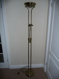 "A ""MOTHER AND CHILD"" FLOOR STANDING LAMP"