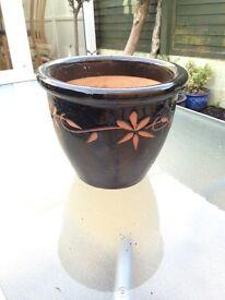 Flower pot as seen no chips cracks etc